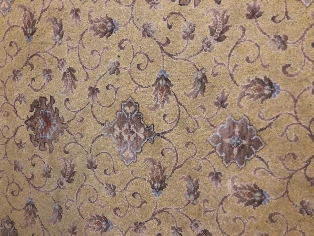 Carpet and under felt
