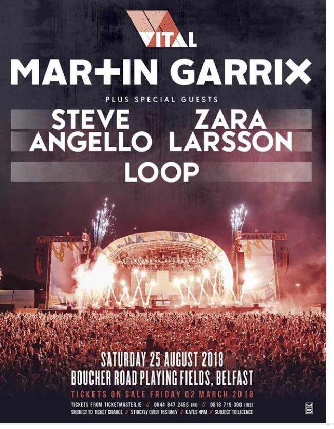 Tvital/Martin Garrix ticket's