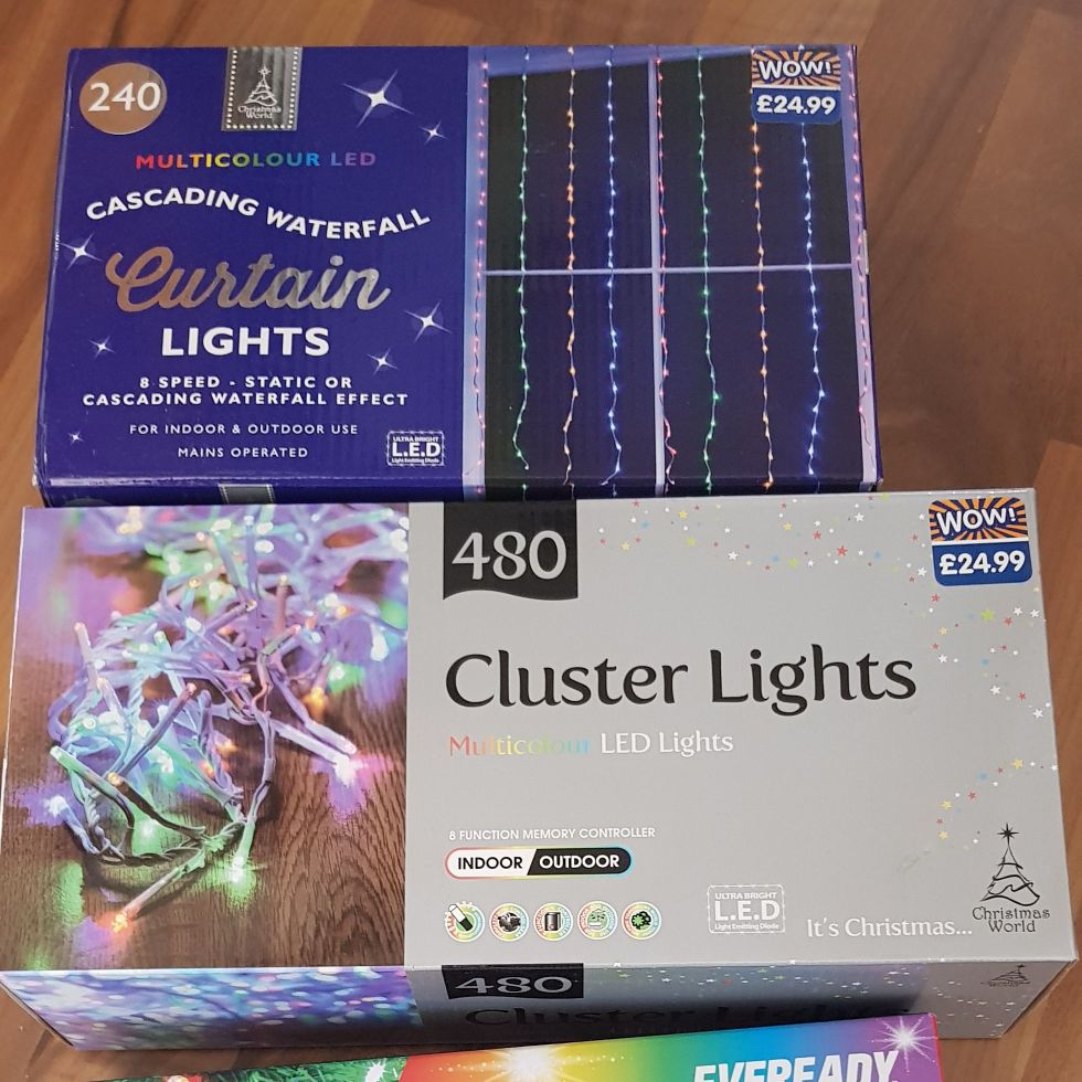 Christmas lights Brand new