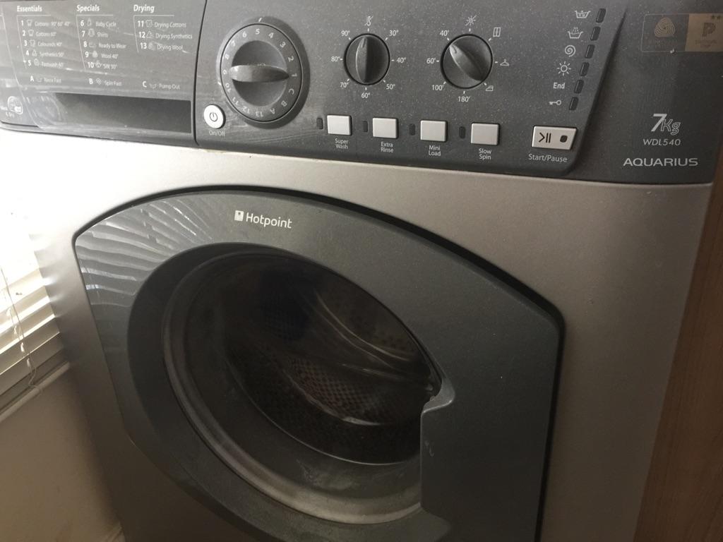 Washer dryer: Hot Point