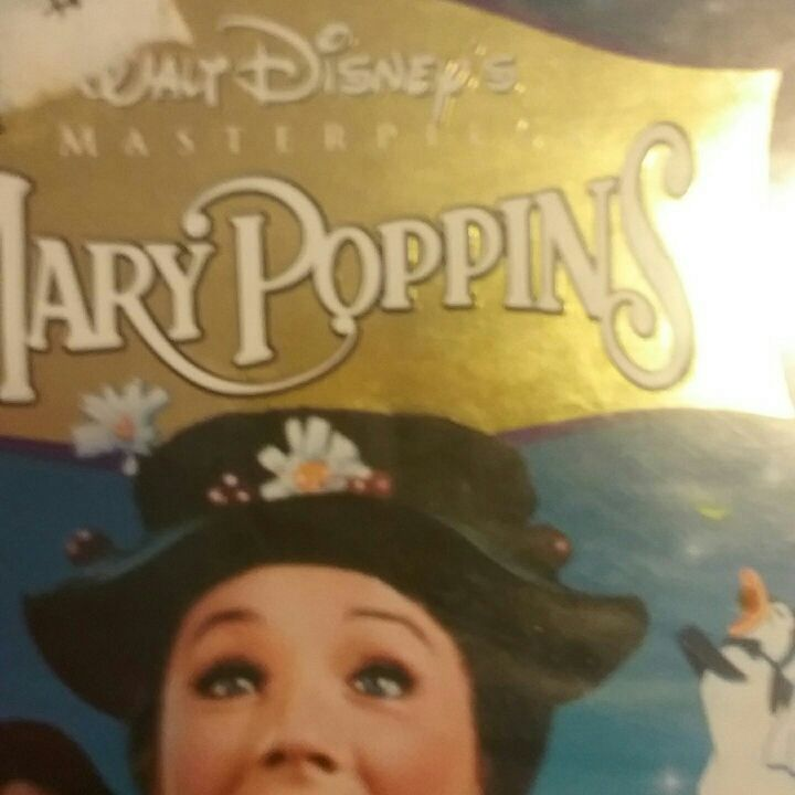Mary Poppins vhs masterpiece collection