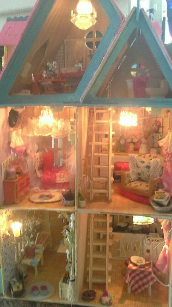 Princess villa dollhouse