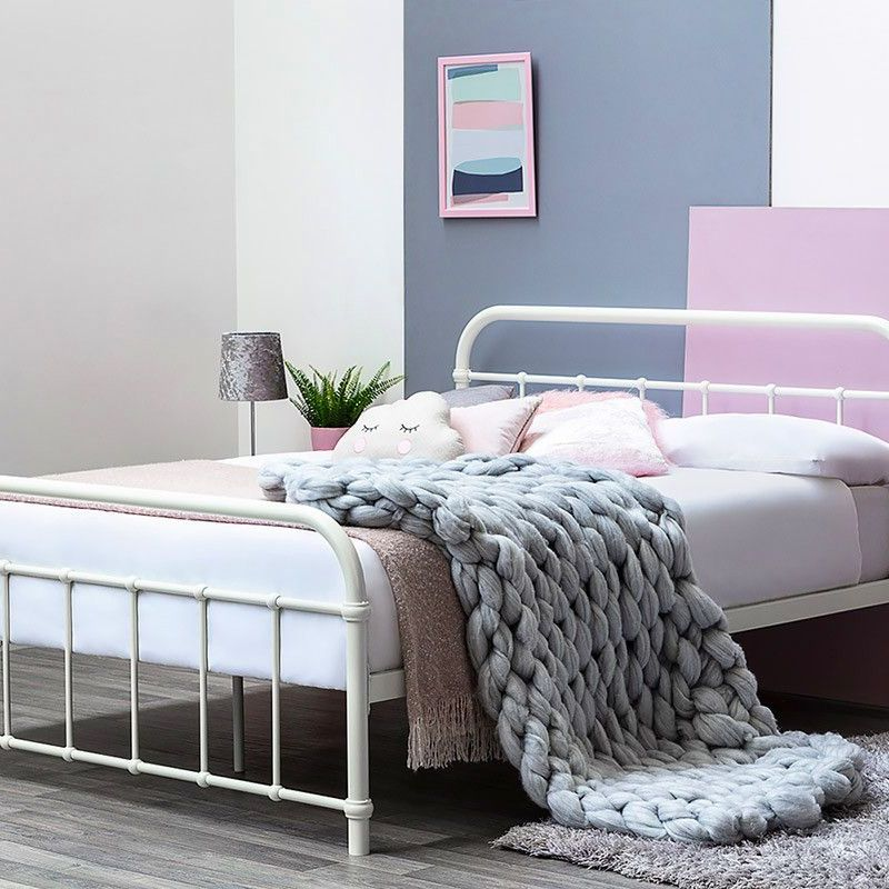 New double bed frame collection only