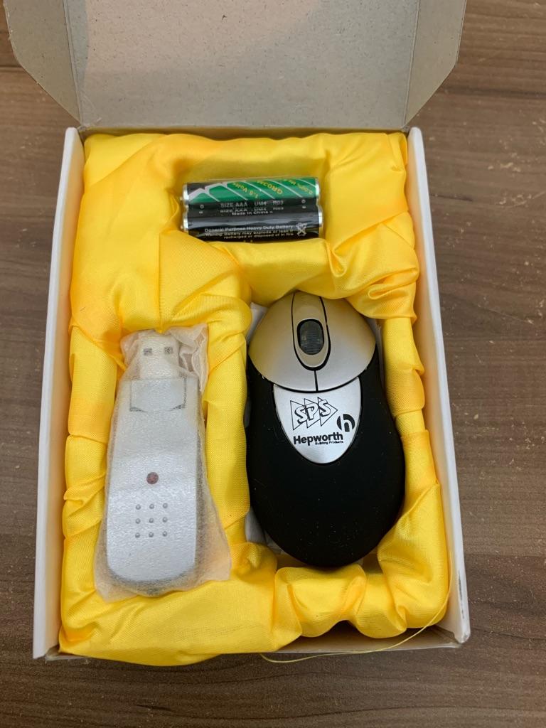 Sps Hepworth Mini Wirless USB Computer Mouse Gift Set