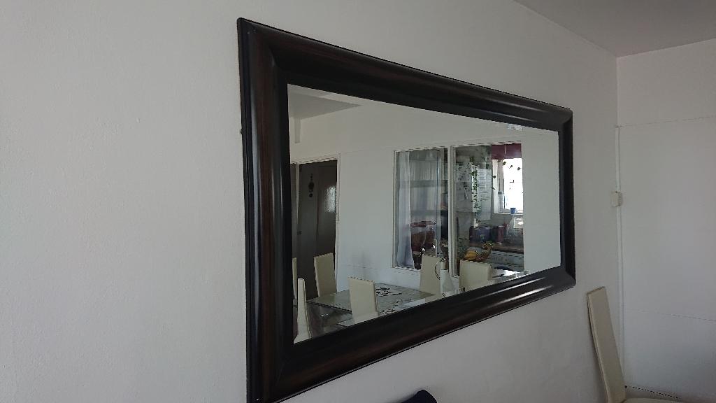 Full Length Quality Wall Mirror (190cm X 90cm)