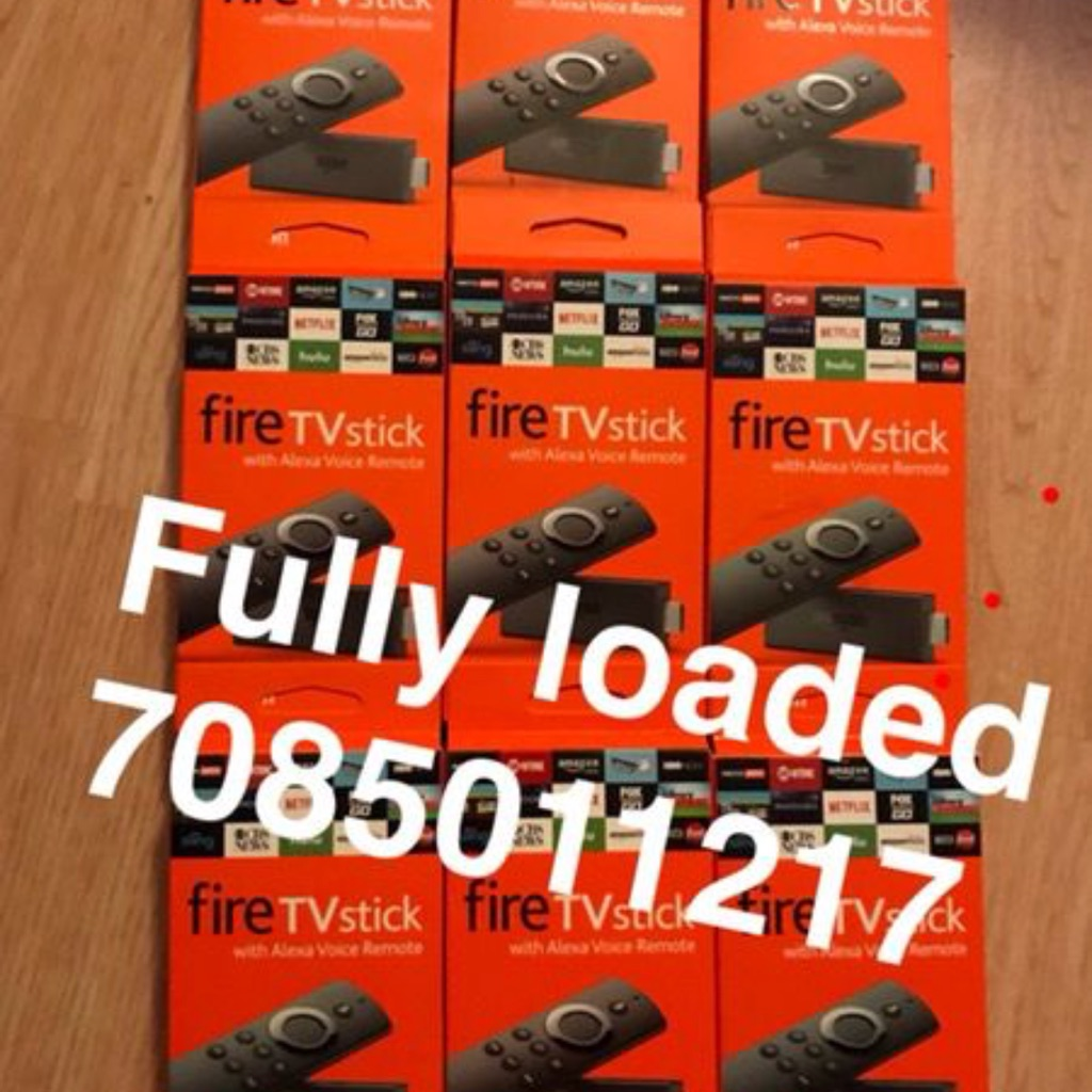 Unlocked fully loaded fire stick