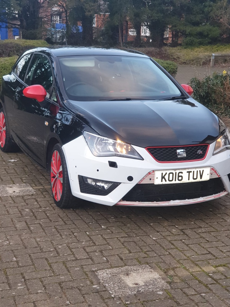 Seat Ibiza fr red edition 2016