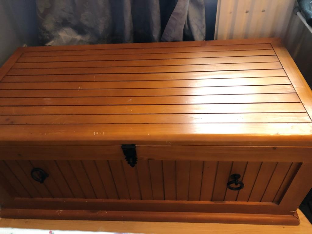 Wooden Chest/Trunk