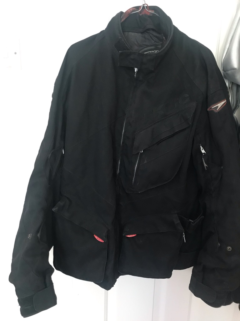 Teknic Black Biker's Jacket 44IN