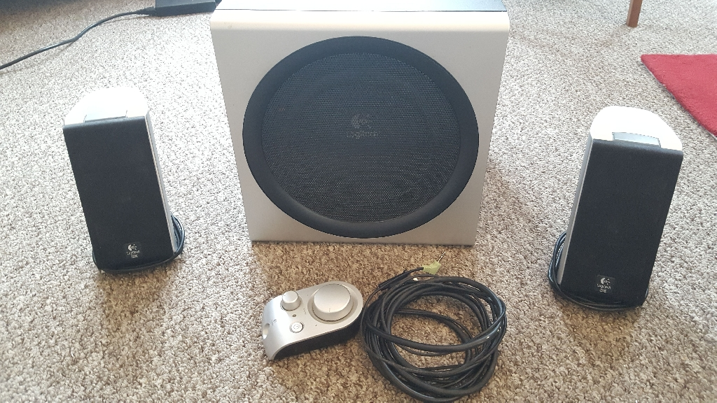 Logitech Z3000 Subwoofer and Speakers