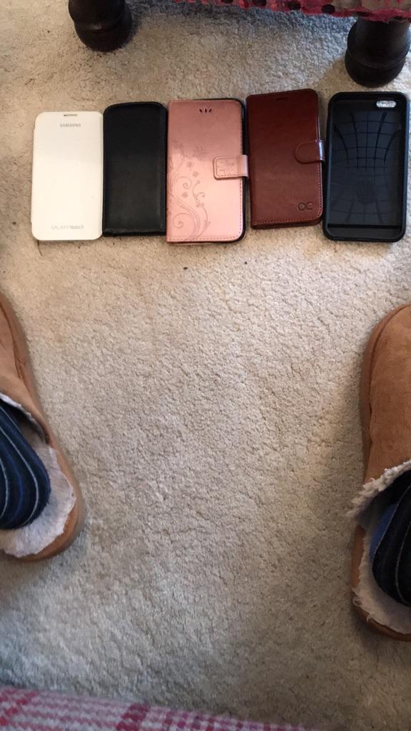 Mobile phone cases & iPad cases