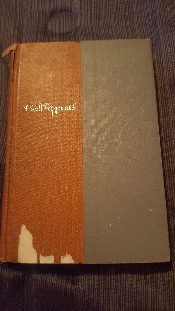 Three Novels of F. Scott Fitzgerald copyright 1953