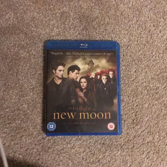 Twilight new moon blue ray