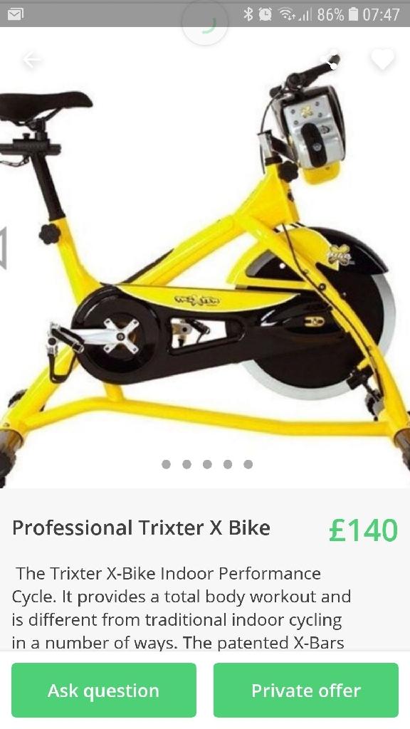 Professional Trixter X Spinning Bike