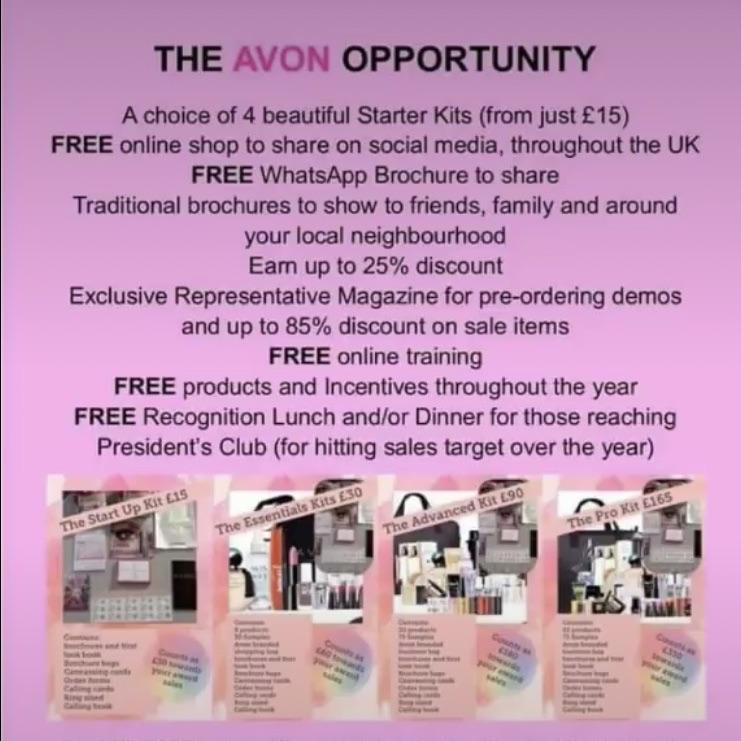 Join Avon and start earning