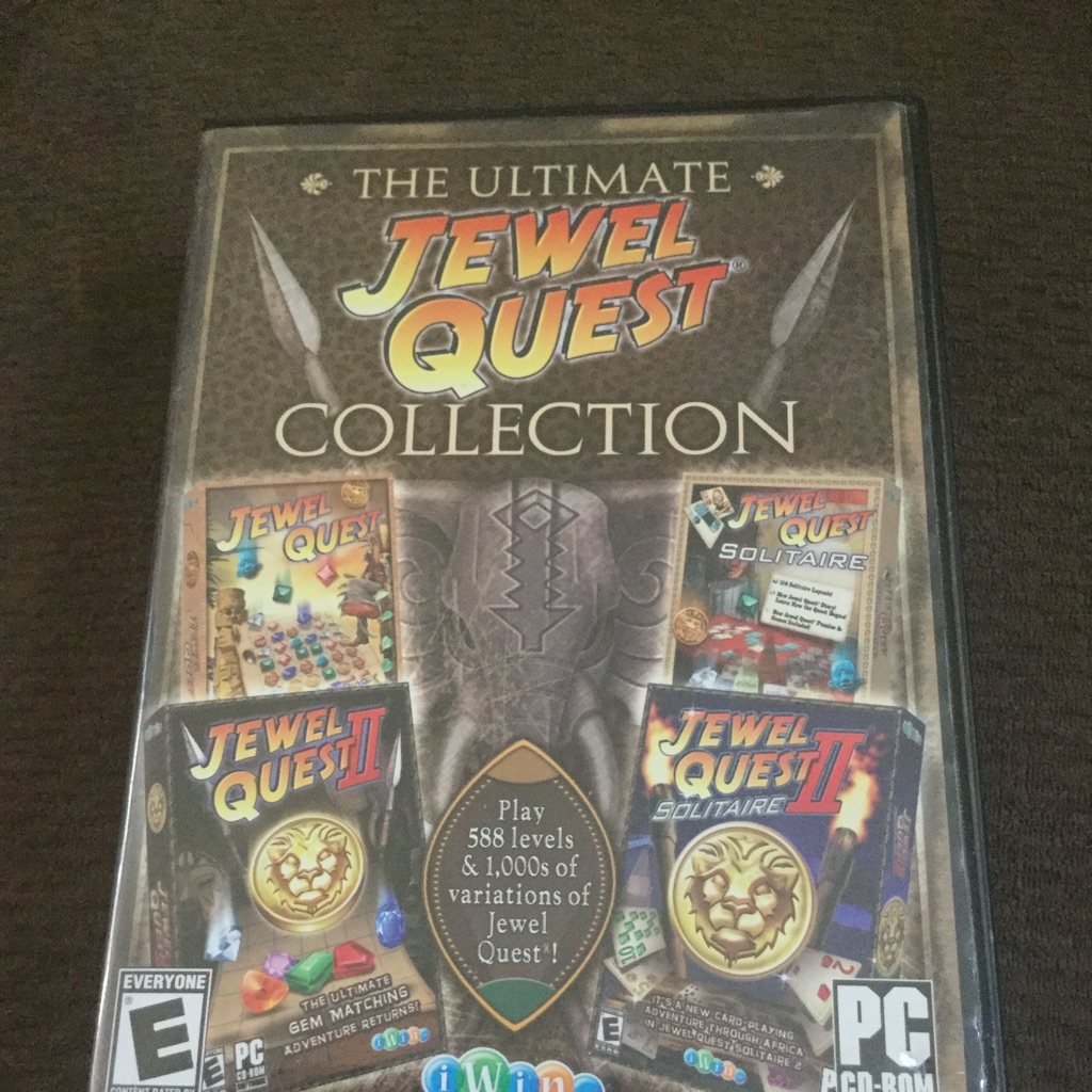 the ultimate jewel quest collection $20 or best offer no holds computer game